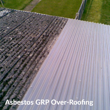 GRP Asbestos over-roofing