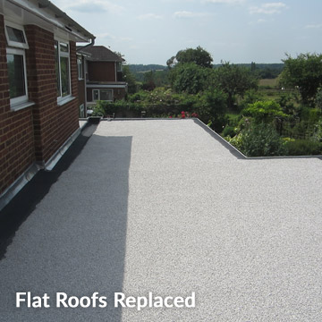 Flat Roofs Replaced