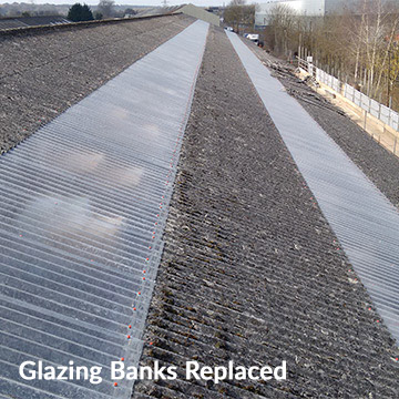 Glazing Banks Replaced