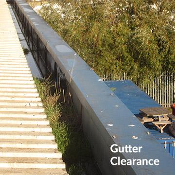 Gutter clearance